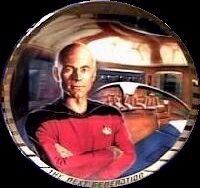 Rare discontinued STNG Portrait Plate